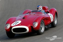 N°71 1958 Ferrari 250 TR, Leslie Davies