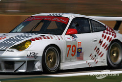 #79 J-3 Racing Porsche 911 GT3 RSR: Tim Sugden , Justin Jackson, Xavier Pompadou