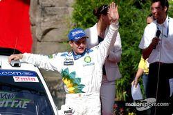 Podium : François Duval fête sa deuxième place
