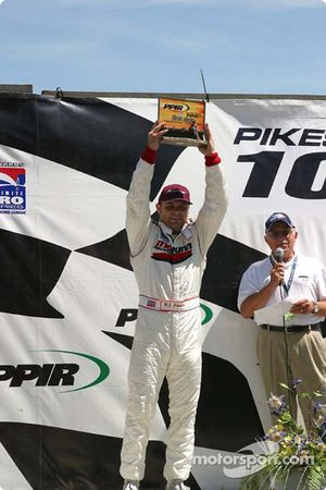 P.J. Chesson, winner of the Pikes Peak 100