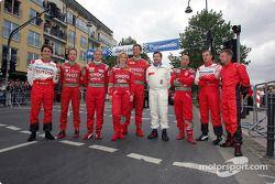 Les pilotes du City Grand Prix Cologne