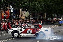 La Toyota Celica de rallye pilotée par Didier Auriol