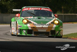 #67 The Racers Group Porsche 911 GT3 RSR: Pierre Ehret, Jim Matthews