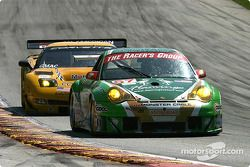 #67 The Racers Group Porsche 911 GT3 RSR: Pierre Ehret, Jim Matthews
