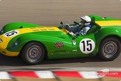 n°15 1956 Ferrari 500 TR, John Devine