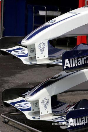 Williams-BMW nose cones