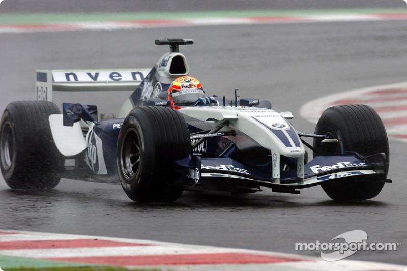 2004 год. Антонио Пиццония. 4 гонки в Williams