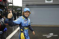 Обладатель поула Ярно Трулли, Renault