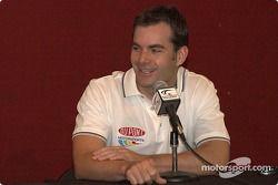 Jeff talks about facing Formula One's Michael Schumacher