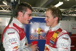 Martin Tomczyk and Mattias Ekström