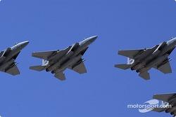 Survol par le 390th Fighter Squadron, Mountain Home AFB, Idaho