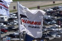 Le drapeau du California Speedway