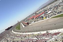 Une superbe vue de la course