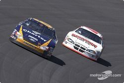 Greg Biffle and Casey Mears show there stuff