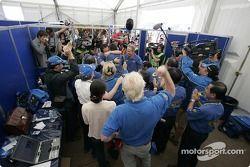 Subaru World Rally Team fête la victoire
