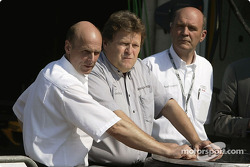 Volker Strycek, Norbert Haug et Dr Wolfgang Ullrich