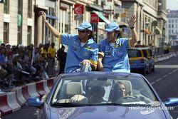 Franck Montagny ve Fernando Alonso