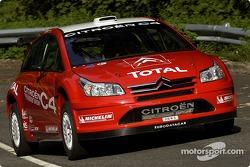 Citroën C4 WRC : première mise en piste
