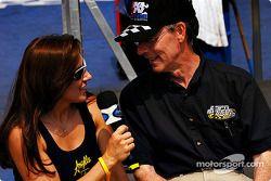 Angelle Savoie et Bob Frey d'ESPN
