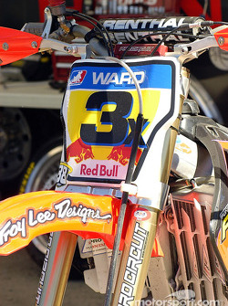 La moto de Jeff Ward