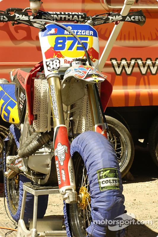 La moto de Mike Metzger