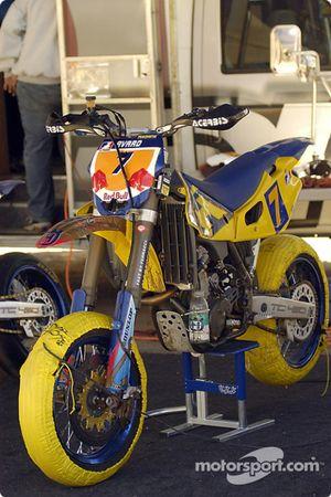 La moto de Mark Burkhart