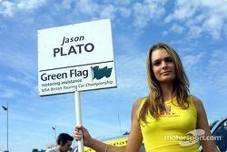 La Grid Girl de Jason Plato