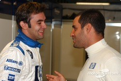 Antonio Pizzonia et Juan Pablo Montoya