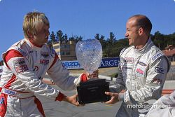 Les deux prétendants au titre Atlantic Series championship 2004 : Ryan Dalziel et Jon Fogarty