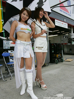 La Race Queen lors du pitwalk