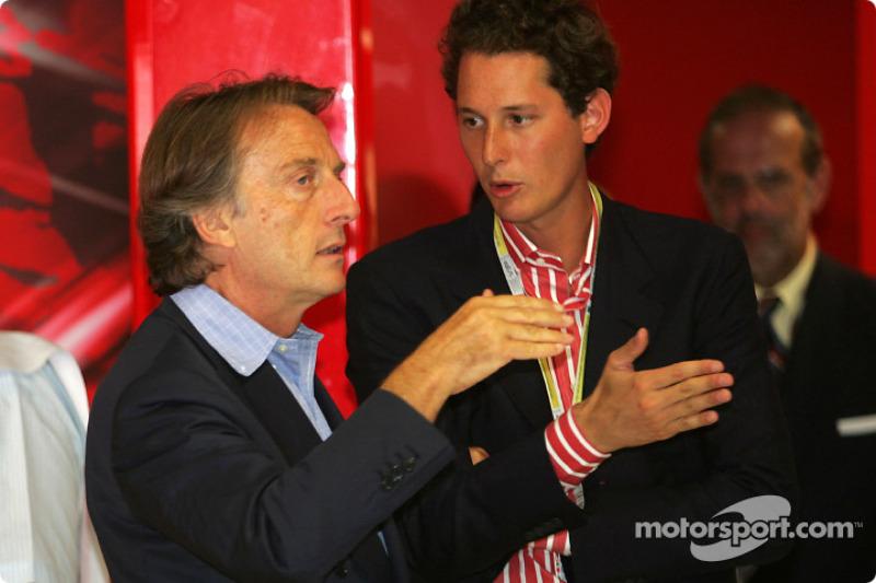 Luca di Montezemolo ve John Elkann