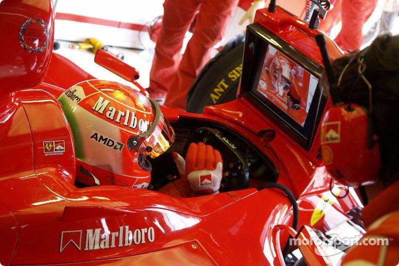 2004 Monza: Ferrari