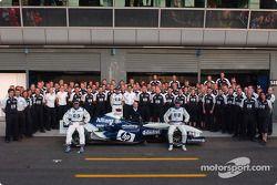 Photo de famille pour Williams-BMW