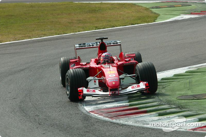 3º Rubens Barrichello, Ferrari F2004; Monza 2004: 260,395 km/h