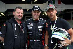 Paul Stoddart, Gianmaria Bruni et Eros Ramazzotti