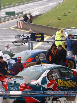 Le garage du Stone Bros Racing
