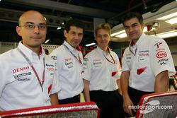 L'ingénieur de course en chef Toyota Dieter Gass