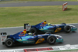 Felipe Massa y Giancarlo Fisichella