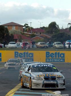 Jason Bargwanna en route vers la sixième place