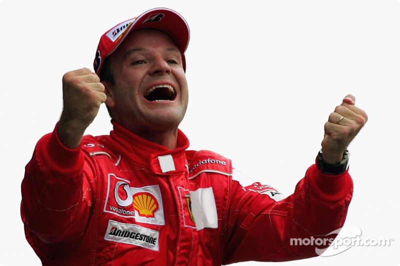 O brasileiro também reinou no GP da Itália