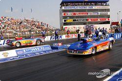 La finale Super Gas : Ross Laris et Ron Erks