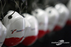 Headsets at team Toyota