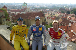 Jarek Janis, Manuel Reuter und Frank Biela