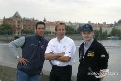 Manuel Reuter, Frank Biela und Jarek Janis