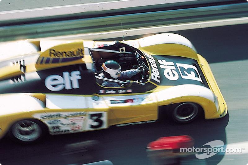 1978 год. Жан-Пьер Жарье за рулем Alpine A442A