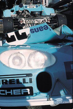 Sauber C5 BMW in paddock