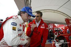 Carlos Sainz y Marc Marti