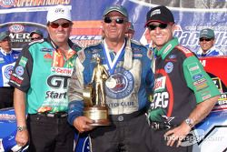 Team Force: John Force, Gary Densham and Eric Medlen