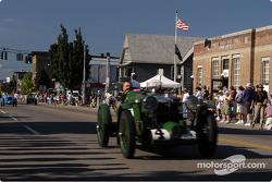 Parade of vintage cars Watkins Glen