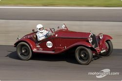 1933 Alfa Romeo 6C de Willem van Huystee